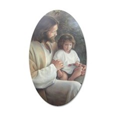 Jesus with child Wall Decal