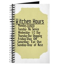 Kitchen Hours Humor Journal