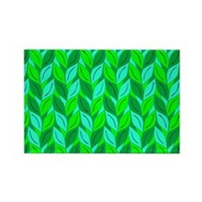 Leaves of Green Rectangle Magnet