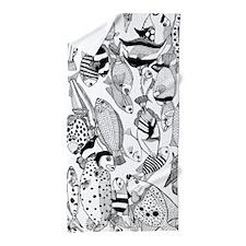 Solomon Fishes Beach Towel