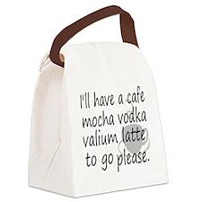 lattehumor Canvas Lunch Bag
