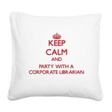 Keep Calm and Party With a Corporate Librarian Squ