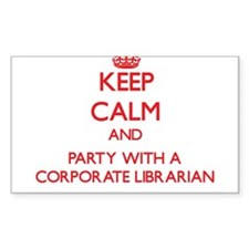 Keep Calm and Party With a Corporate Librarian Sti