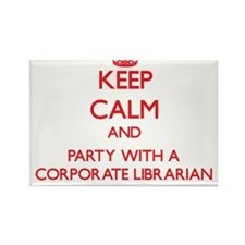 Keep Calm and Party With a Corporate Librarian Mag