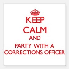 Keep Calm and Party With a Corrections Officer Squ