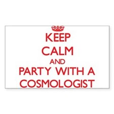 Keep Calm and Party With a Cosmologist Decal
