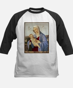 Vintage Painting of Madonna and Child Baseball Jer