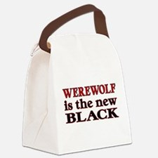 Werewolf is the new Black Canvas Lunch Bag
