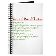 Unique 12 days christmas Journal