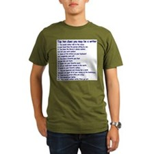 Clues You May Be a Writer T-Shirt