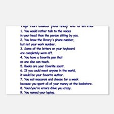 Clues You May Be a Writer Postcards (Package of 8)