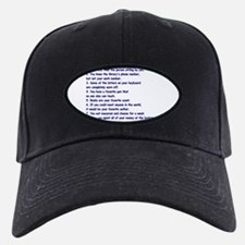 Clues You May Be a Writer Baseball Hat