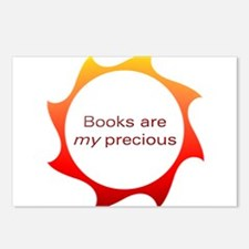 Books are my precious Postcards (Package of 8)