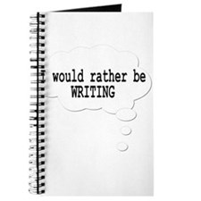I would rather be writing Journal