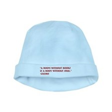 A room without books baby hat