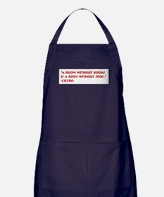A room without books Apron (dark)