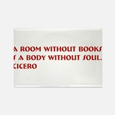 A room without books Rectangle Magnet (10 pack)