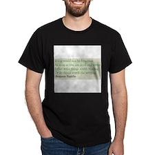 Ben Franklin Writing Advice T-Shirt