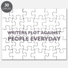 Writers Plot Against People Everyday Puzzle