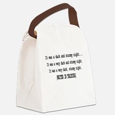 writerintraining.png Canvas Lunch Bag