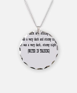 writerintraining.png Necklace