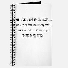 writerintraining.png Journal