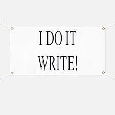 I Do It Write! Banner