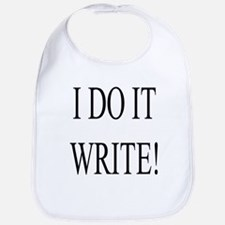 I Do It Write! Bib
