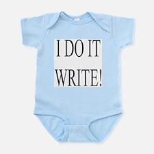 I Do It Write! Infant Bodysuit
