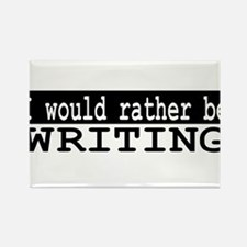 I would rather be writing Rectangle Magnet (10 pac