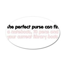 The perfect purse Wall Decal