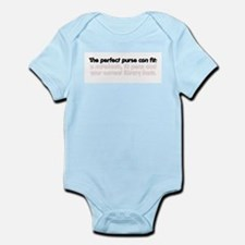 The perfect purse Infant Bodysuit