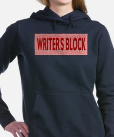 Writers Block Hooded Sweatshirt
