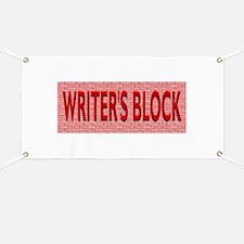 Writers Block Banner