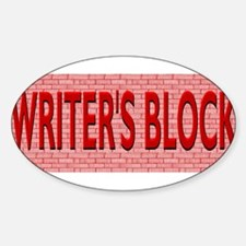 Writers Block Decal