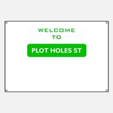 Welcome to Plot Holes St Banner