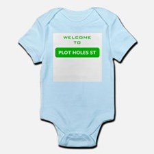 Welcome to Plot Holes St Infant Bodysuit