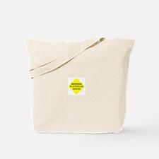 Warning Plotholes Ahead Tote Bag