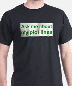 askplotlines_green_bs.png T-Shirt