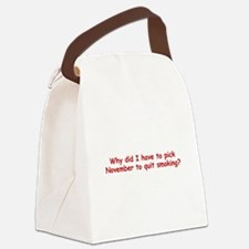 Funny Nanowrimo Canvas Lunch Bag