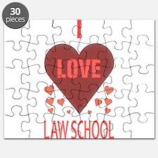 I LOVE LAW SCHOOL Puzzle