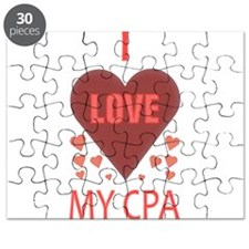 I LOVE MY CPA Puzzle