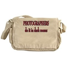 Photographers in Dark Rooms Messenger Bag