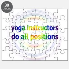 Yoga Positions Puzzle
