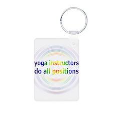 Yoga Positions Keychains