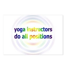 Yoga Positions Postcards (Package of 8)