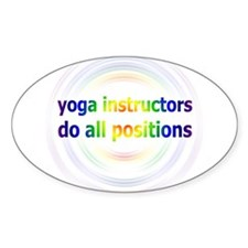 Yoga Positions Decal