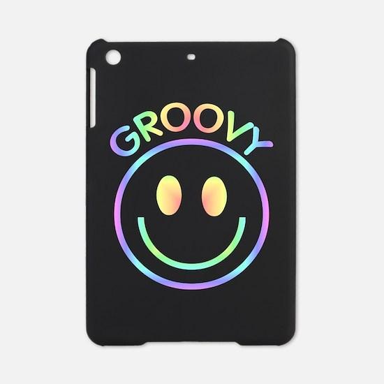 Groovy Pastel Smiley iPad Mini Case