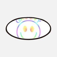 Groovy Pastel Smiley Patches