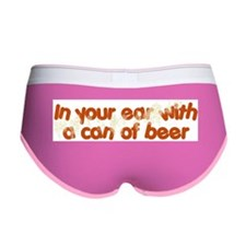 In Your Ear Women's Boy Brief